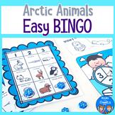 Arctic Animal Activities Bingo
