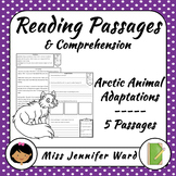 Arctic Animal Adaptations Reading Passages