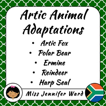 Arctic Animal Adaptations Reading Passages (Afrikaans)