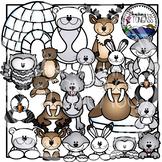 Polar and Arctic Animal Clipart
