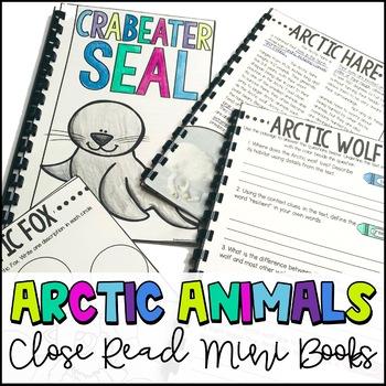 Arctic Animal Close Reads **GROWING BUNDLE**