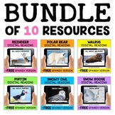 Arctic Animal Reading Comprehension Bundle