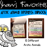 Arctic Animal Habitat Flip Books {15 Animals}