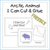 Arctic Animal I Can Cut & Glue Booklet FREEBIE