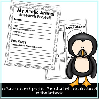 Arctic Animals Lapbook