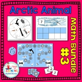 Arctic Animal Math Bundle #3 - Three Math Centers for Early Learners