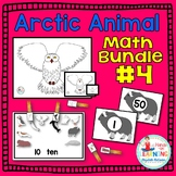 Arctic Animal Math Bundle #4 - Three Math Centers for Early Learners