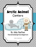 Polar Animal Math and Literacy Centers