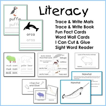 Arctic Animal Math and Literacy Unit
