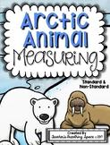 Arctic Animal Measuring Book and Measurement Math Center
