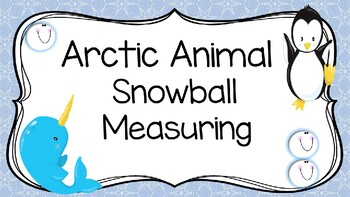 Arctic Animal Measuring with Snowball