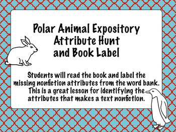 Arctic Animal Nonfiction Attribute Book Hunt