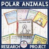 Polar Animals Paper Bag Research Books