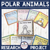Polar Animals Paper Bag Research Books