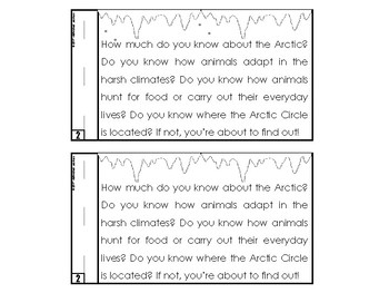 Arctic Animal Reader (Nonfiction) Emergent Reader Included