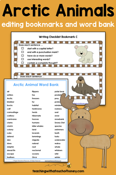 Arctic Animal Research: Tiered Report Writing Templates