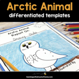 Informational Writing Templates | Arctic Animals Writing | Animal Activities