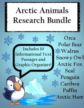 Arctic Animals Research Bundle