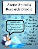 Arctic Animals Research Bundle