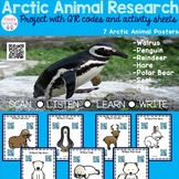 Arctic Animals Research Project with QR codes