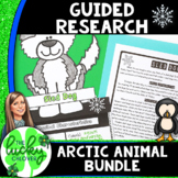 Arctic Animal Research Project Bundle | Graphic Organizers