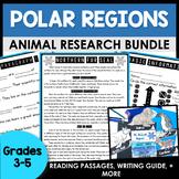 Arctic and Antarctic Animals   Arctic Animals Research Paper   BUNDLE