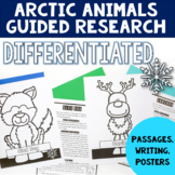 Animal Research Project with Graphic Organizers | Arctic Animals