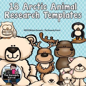 Arctic Animal Research BUNDLE