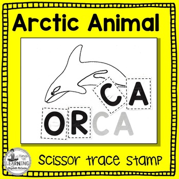 Arctic Animal Scissor, Trace and Stamp - An Animal Literacy Center