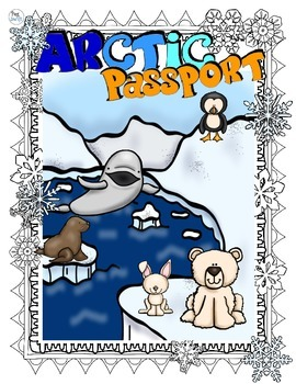 Arctic Animal Research Book