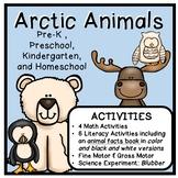 Arctic Animal Thematic Unit for Preschool, PreK, and Kindergarten