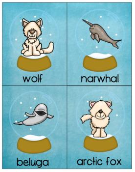 Arctic Animal Vocabulary