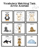 Arctic Animal Vocabulary Folder Game for Early Childhood S