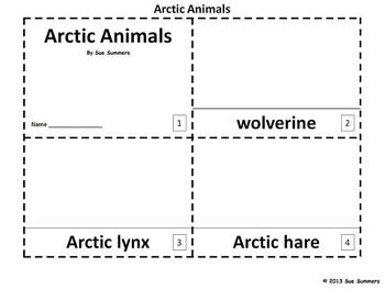 Arctic Animals 2 Emergent Readers