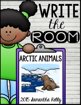 Arctic Animals Write the Room Center