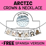 Crown and Necklace Craft - Arctic Animals Activities