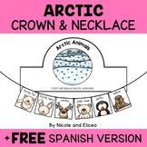 Necklace Craft - Arctic Animals Activity