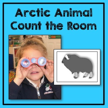 Arctic Animal Count the Room Math Center