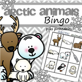 Arctic Animals Bingo for Preschool and Pre-K