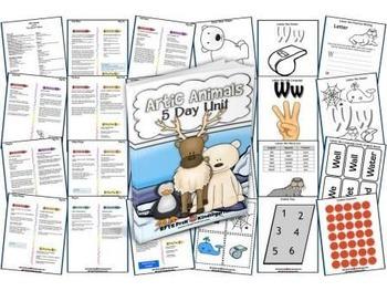 Arctic Animals (5-day Thematic Unit)