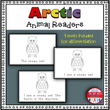 Arctic Animals - A Differentiated Set of Emergent Readers