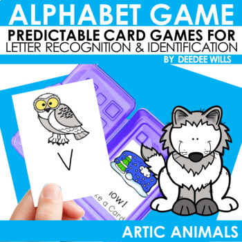 Arctic Animals ABC Game ~ editable
