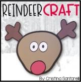 Reindeer Activities: Reindeer Writing Activity