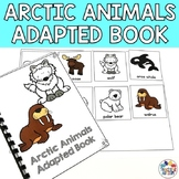 Arctic Animals Adapted Book for Special Education