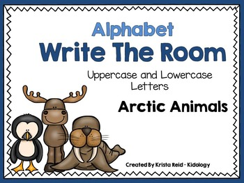 Arctic Animals - Alphabet Write The Room