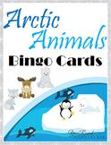 Arctic Animals Bingo Cards