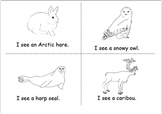 Arctic Animals Book and Word Wall