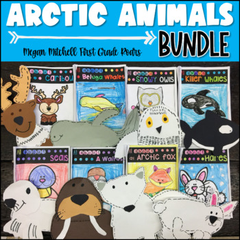 Arctic Animals BUNDLE - Informational Text, Reading, Writi