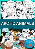 Arctic Animals CLIPART!