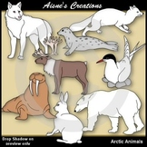 Arctic Animals Clip Art Pack